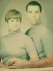 Karen and Mike Garofalo, 1969